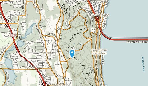Blauvelt State Park Map