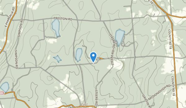 Bowman Lake State Park Map