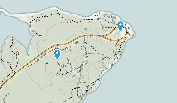 Camp Hero State Park Map