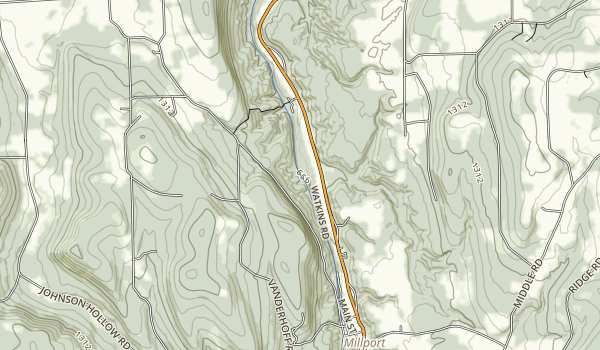 Catharine Valley Trail Map