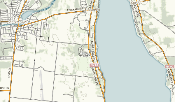 Cayuga Lake State Park Map