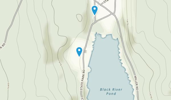 Cherry Plain State Park Map