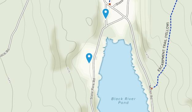 Parque Estatal Cherry Plain Map