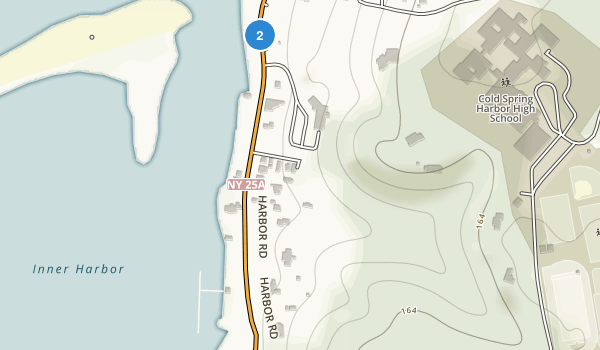 Cold Spring Harbor State Park Map