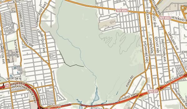 Connetquot River State Park Preserve Map