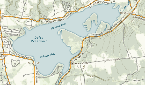 Delta Lake State Park Map