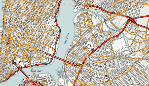 East River State Park Map