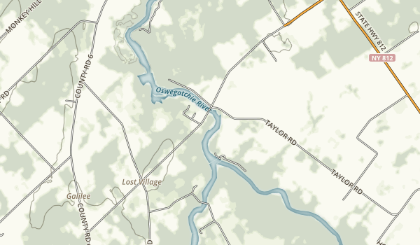 Eel Weir State Park Map