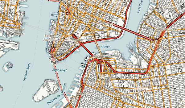 Empire-Fulton Ferry State Park Map