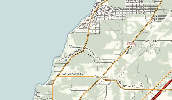 Evangola State Park Map
