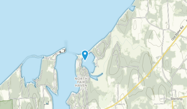 Fair Haven Beach State Park Map