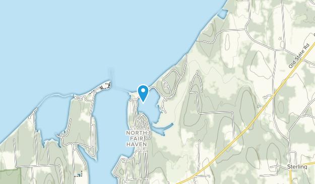 Parque Estatal Fair Haven Beach Map