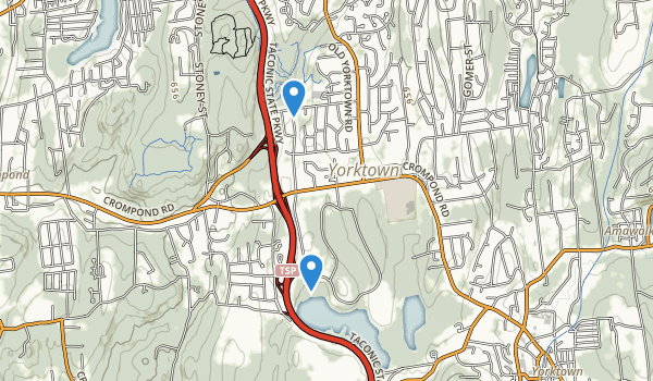 trail locations for Franklin D. Roosevelt State Park