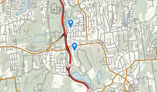 Franklin D. Roosevelt State Park Map