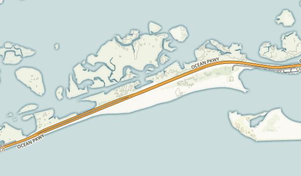 Gilgo State Park Map