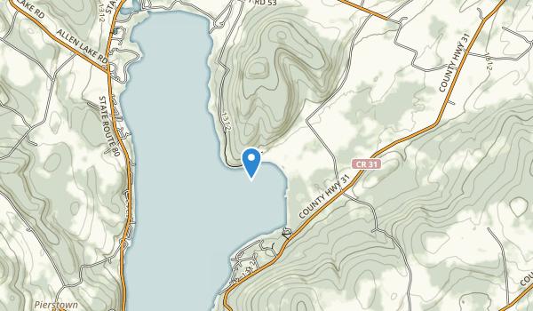 Glimmerglass State Park Map