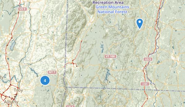 Grafton Lakes State Park Map