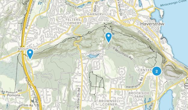 Parque Estatal High Tor Map