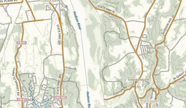 Hudson River Islands State Park Map