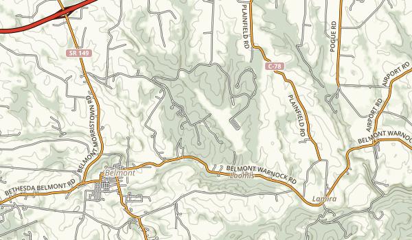 Barkcamp State Park Map