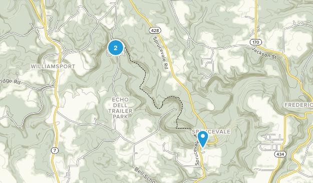 Beaver Creek State Park Map