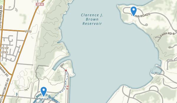 Buck Creek State Park Map