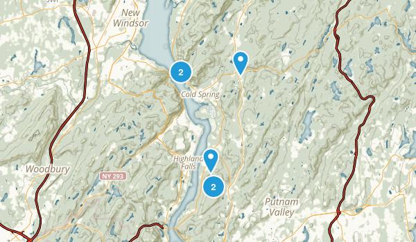 Hudson Highlands State Park Map