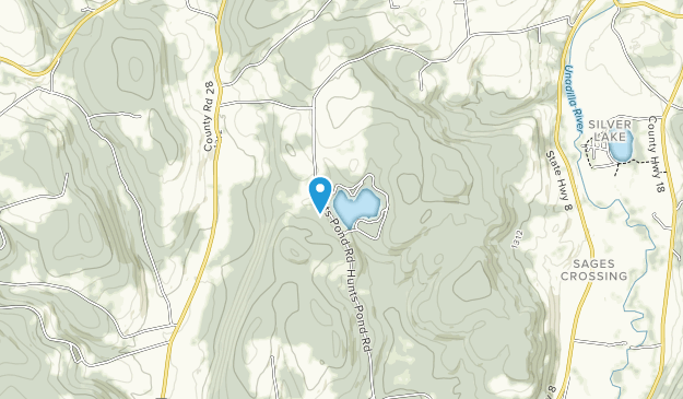 Hunt's Pond State Park Map