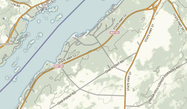 Jacques Cartier State Park Map