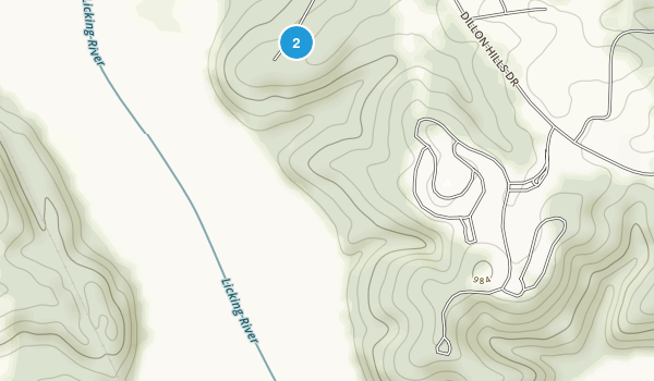 Dillon State Park Map