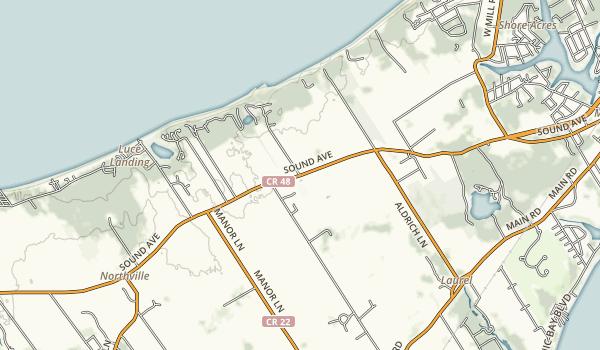 Jamesport State Park Map