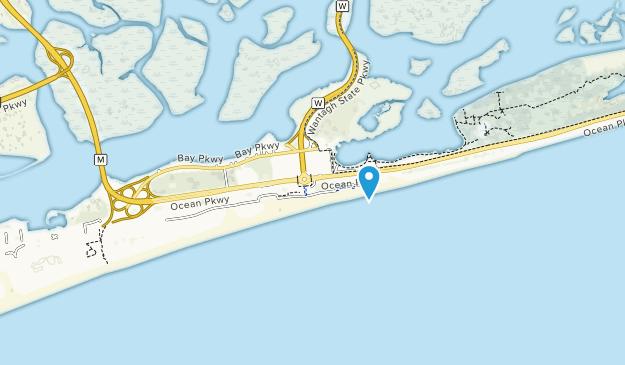 Parque Estatal Jones Beach Map