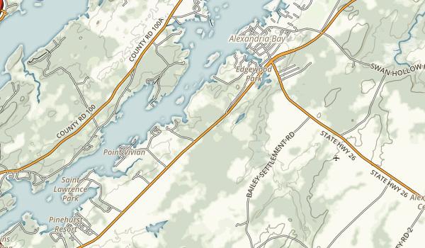 Keewaydin State Park Map