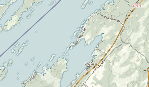 Kring Point State Park Map