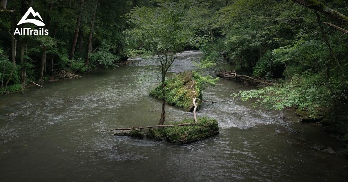 best trails in john bryan state park