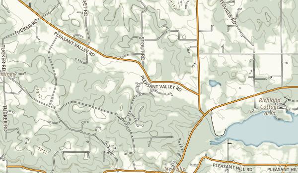 Malabar Farm State Park Map
