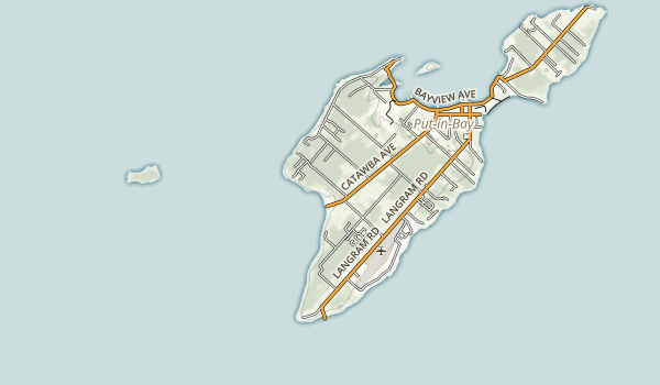 Middle Bass Island State Park Map