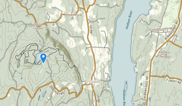trail locations for Margaret Lewis Norrie State Park