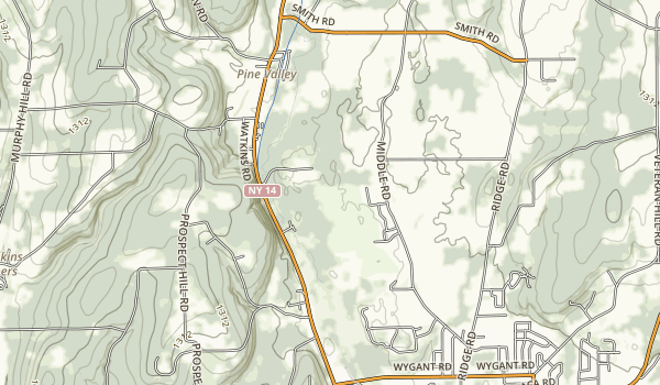 Mark Twain State Park and Soaring Eagles Golf Course Map