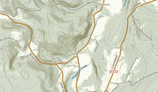 Max V. Shaul State Park Map