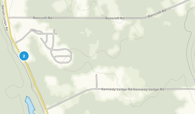 Nelson-Kennedy Ledges State Park Map