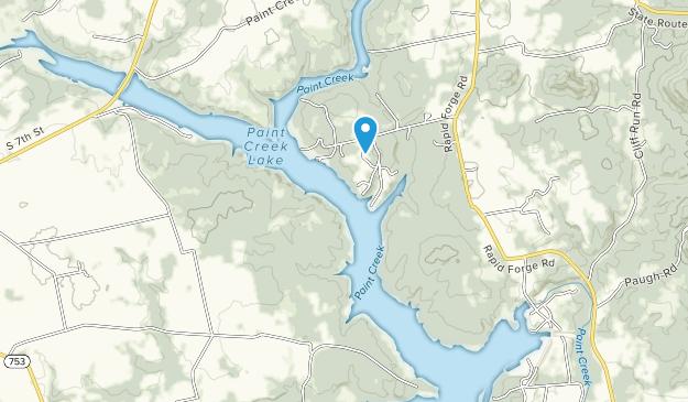 Paint Creek State Park Map