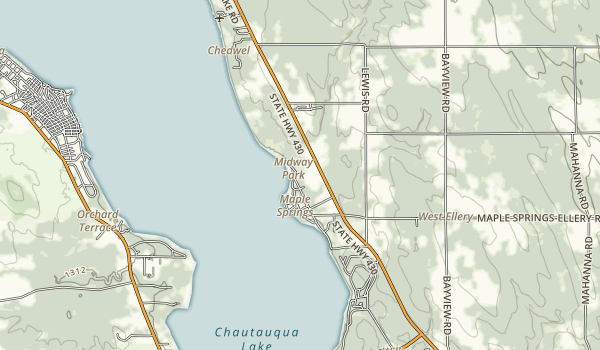 Midway State Park Map