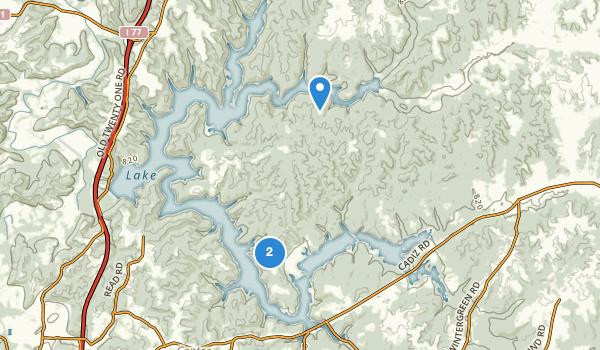 Salt Fork State Park Map
