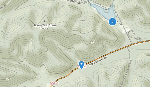 Scioto Trail State Park Map