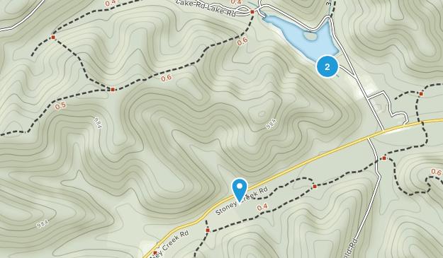 Parque Estatal Scioto Trail Map