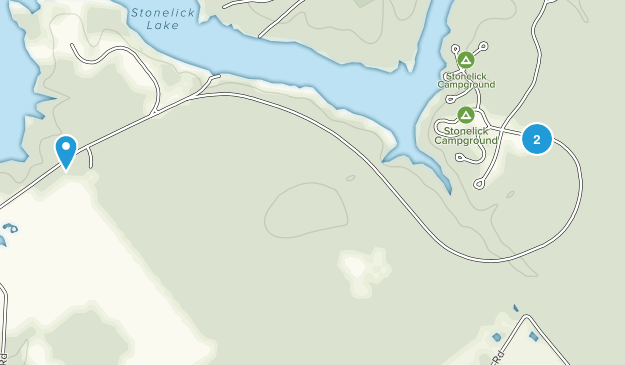 Stonelick State Park Map