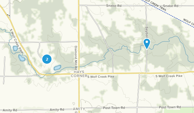 Sycamore State Park Map