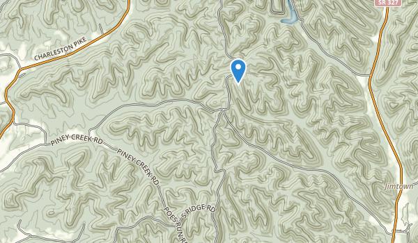 Tar Hollow State Park Map