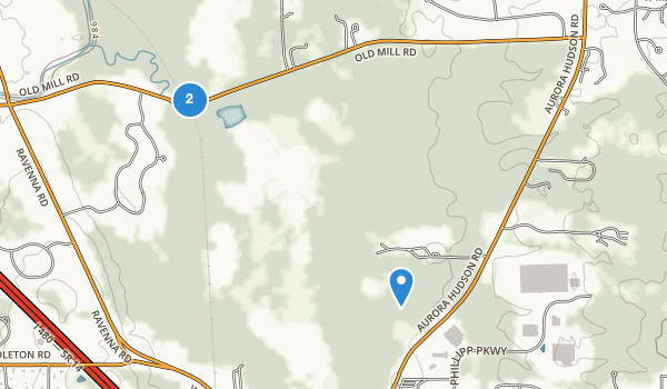 trail locations for Tinkers Creek State Park